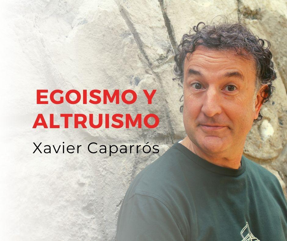 Egoismo y Altruismo